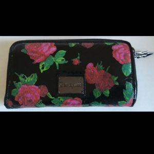 Betsey Johnson's Rose Floral wallet